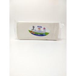 Plastilina Alba 250gr Blanco