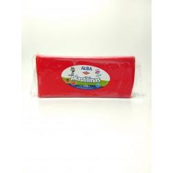 Plastilina Alba 250gr Rojo