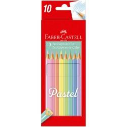 Lapices Pastel Faber Castell x10