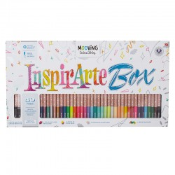 Set Mooving InspirArte Box Serious Coloring