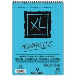 Block Canson XL Aquarelle A5 300gr