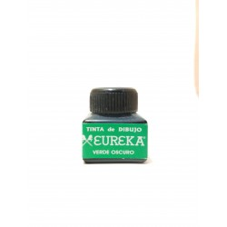Tinta de Dibujo Eureka Verde Oscuro 15ml