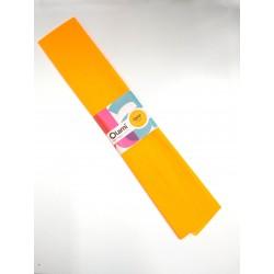 Papel Crepe Naranja Fluo Olami 50cm x 2mts