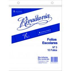 Folios Rivadavia Nº3 x10