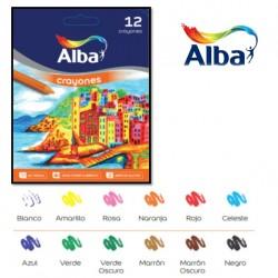 Crayones Alba x12