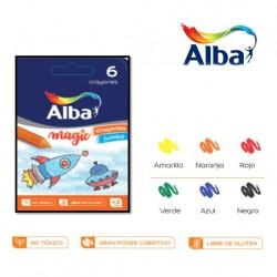 Crayones Alba Kinder Jumbo x6