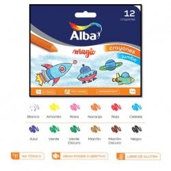 Crayones Alba Kinder Jumbo x12