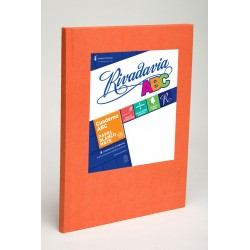 Cuaderno Rivadavia ABC Naranja 98 Hojas Rayadas