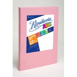 Cuaderno Rivadavia ABC Rosa 98 Hojas Rayadas