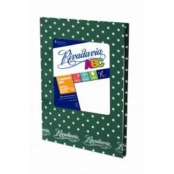 Cuaderno Rivadavia ABC Lunares 50 Hojas Rayadas Verde