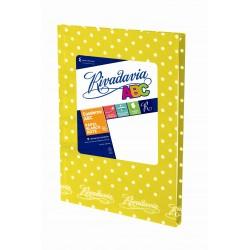 Cuaderno Rivadavia ABC Lunares 50 Hojas Rayadas Amarillo