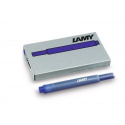 Cartucho Lamy T10 Azul Lavable x5