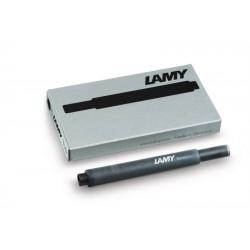 Cartucho Lamy T10 Negro x5