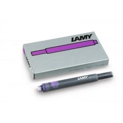 Cartucho Lamy T10 Violeta x5
