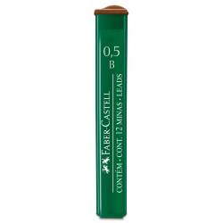 Minas Faber Castell 0.5mm B x12