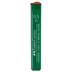 Minas Faber Castell 0.5mm H x12