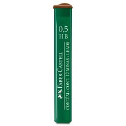 Minas Faber Castell 0.5mm HB x12