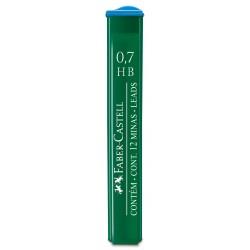 Minas Faber Castell 0.7mm HB x12