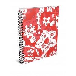 Cuaderno Arte Bloom 80 Hojas Cuadriculado