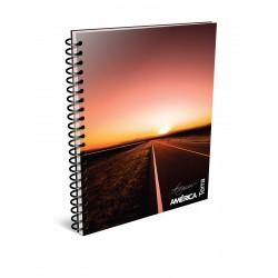 Cuaderno America Terra A4 80 Hojas Cuadriculado