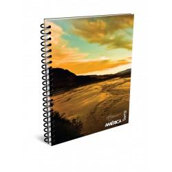 Cuaderno America Terra A4 80 Hojas Rayado