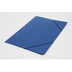 Carpeta 3 Solapas Con Elástico Oficio Util Of Azul