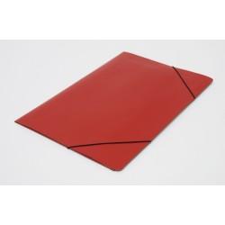 Carpeta 3 Solapas Con Elástico Oficio Util Of Rojo
