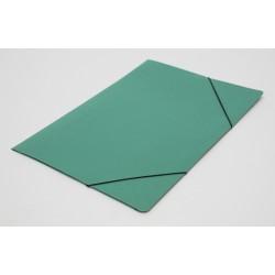 Carpeta 3 Solapas Con Elástico Oficio Util Of Verde