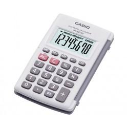 Calculadora Casio HL-820LV Blanca Con Tapa