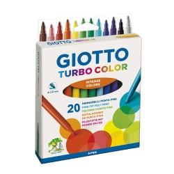 Marcadores Giotto Turbo Color x20