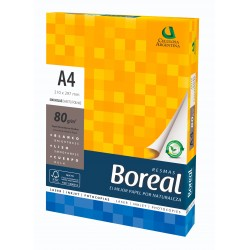 Resma Boreal A4 80gr