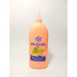 Plasticola Fluo 230gr Naranja