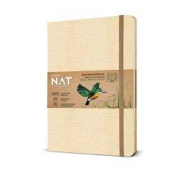 Cuaderno Ledesma Nat 16x21 Puntillado 80 Hojas
