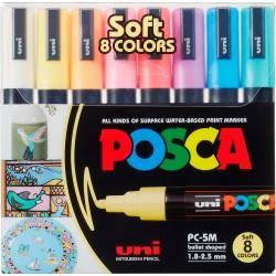 Marcadores Posca PC-5M Soft x8