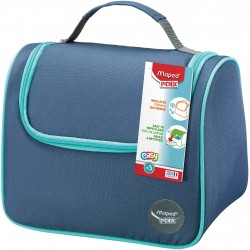 Lunchera Maped Picnik Luch Bag Tela Azul
