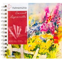Block Hahnemühle Carnet Aquerelle 19x20cm 400gr 15 hojas