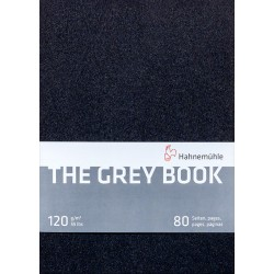 Cuaderno Hahnemühle The Gray Book A5 120gr 40h