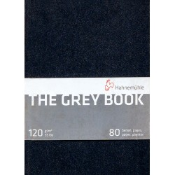 Cuaderno Hahnemühle The Gray Book A4 120gr 40h