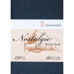 Cuaderno Hahnemühle Nostalgie A5 190gr 40h