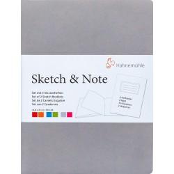 Cuadernos Hahnemühle Sketch & Note A6 125gr 20h (Gris y...