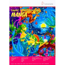 Block Hahnemühle Manga Layout A4 80g 40h