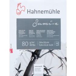 Block Hahnemühle Sumi-e 24x32cm 80gr 50h