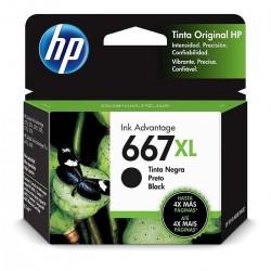 Cartucho HP 667XL Negro