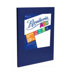Cuaderno Rivadavia ABC Azul Rayado 50 hojas