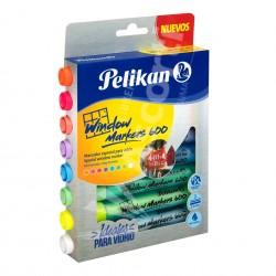 Marcadores Pelikan Window Marker 600 x8