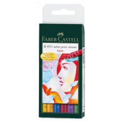 Set Faber Castell Pit Artist Basic x6