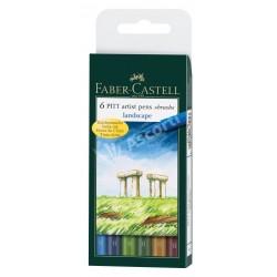Set Faber Castell Pit Artist Landscape x6
