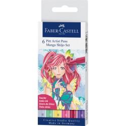 Set Faber Castell Pit Artist Manga Shojo x6