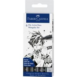 Set Faber Castell Pit Artist Mangaka x6