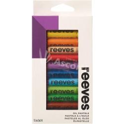 Pasteles Reeves al Óleo x12